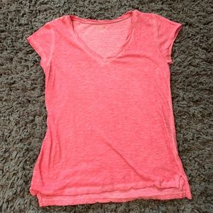 Pink Loose Fit T-Shirt